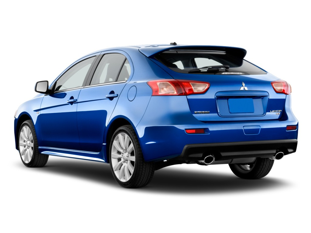 2011 Mitsubishi Lancer 5dr HB TC-SST Ralliart AWD Angular Rear Exterior View