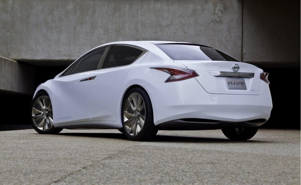 2010 Los Angeles Auto Show: Nissan Ellure Concept Car