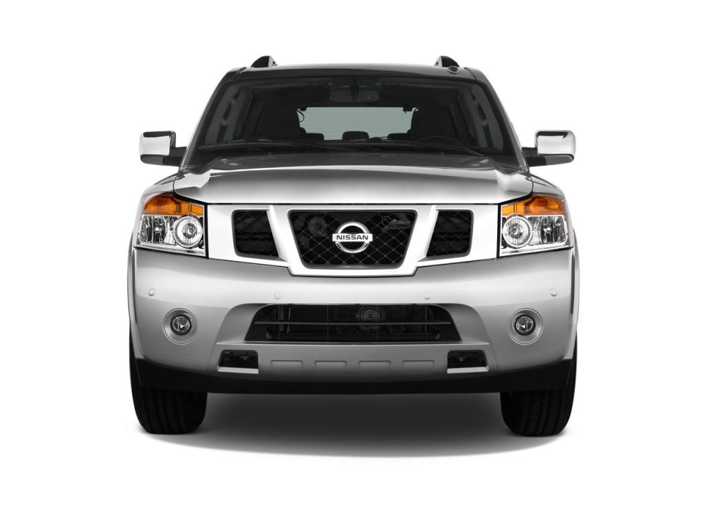 Image 2011 Nissan Armada 2wd 4 Door Sv Front Exterior