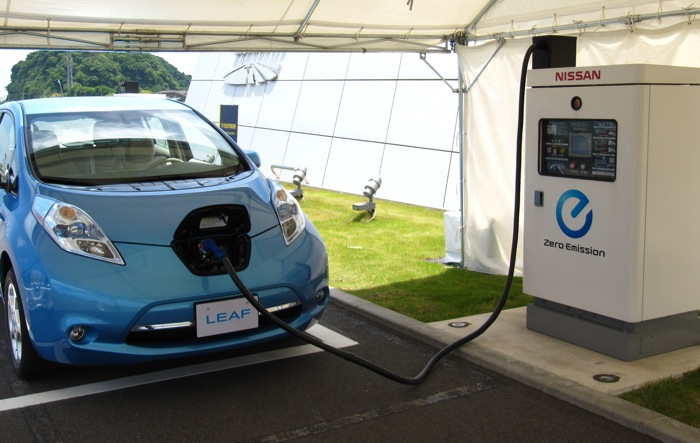 Breaking Nissan Leaf To Get Faster Charger In A Year Or So