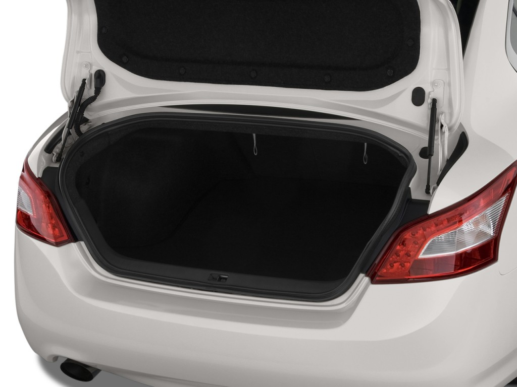 Image: 2011 Nissan Maxima 4-door Sedan V6 CVT 3.5 S Trunk ...