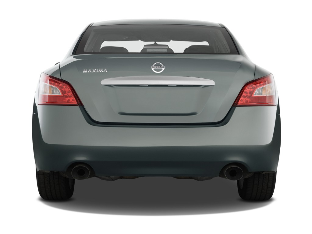 Image: 2011 Nissan Maxima 4-door Sedan V6 CVT 3.5 SV Rear ...