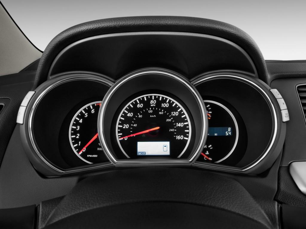 Image: 2011 Nissan Murano 2WD 4-door S Instrument Cluster ...