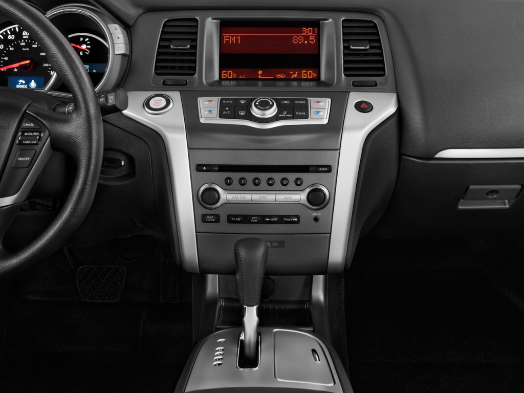 Image: 2011 Nissan Murano 2WD 4-door S Instrument Panel ...