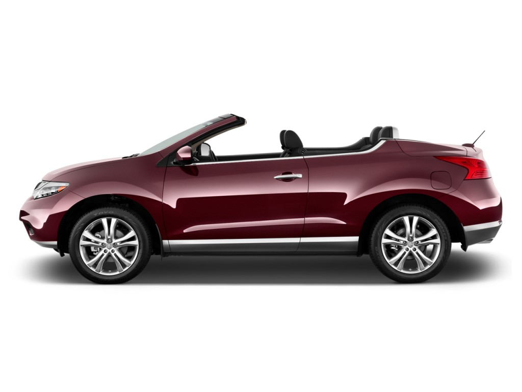 Image: 2011 Nissan Murano CrossCabriolet AWD 2-door Convertible Side