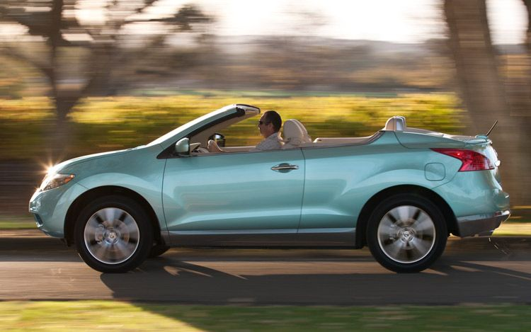 2011 Nissan CrossCabriolet Arriving Late For Convertible Season