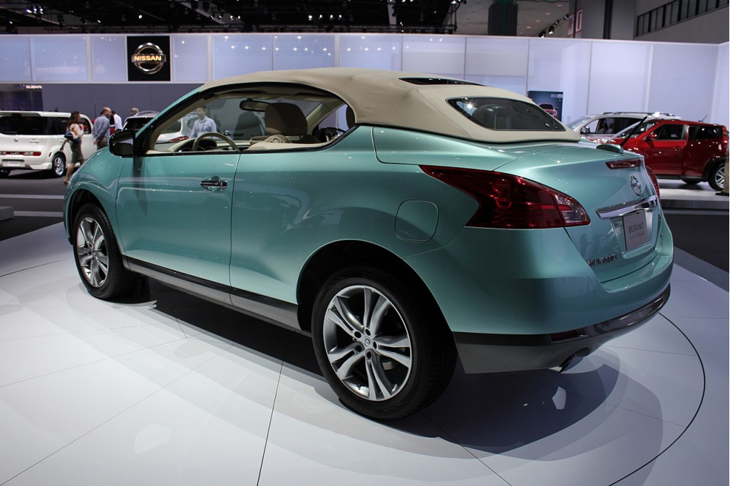 Image 2011 Nissan Murano Crosscabriolet Size 1024 X 682