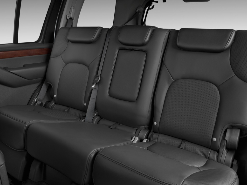 Image: 2011 Nissan Pathfinder 4WD 4-door V8 LE Rear Seats, size ...