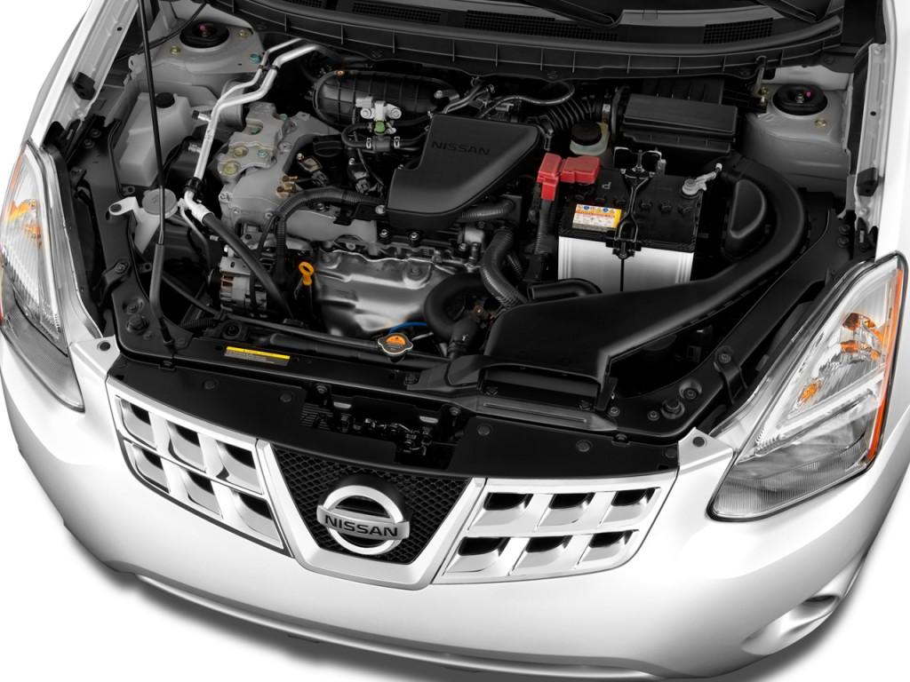 2011 Nissan Rogue FWD 4-door SV Engine