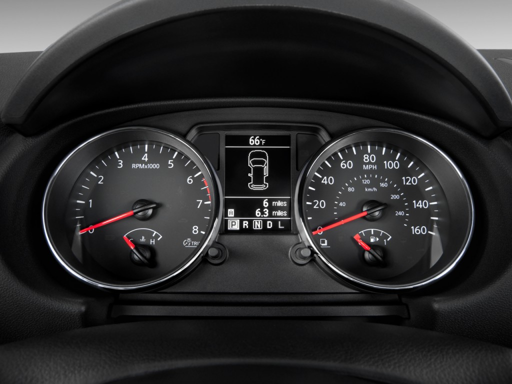 Image: 2011 Nissan Rogue FWD 4-door SV Instrument Cluster, size: 1024 x 768, type: gif, posted ...