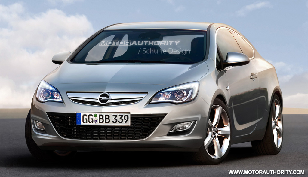 rendered 2011 opel astra sport coupe. Black Bedroom Furniture Sets. Home Design Ideas