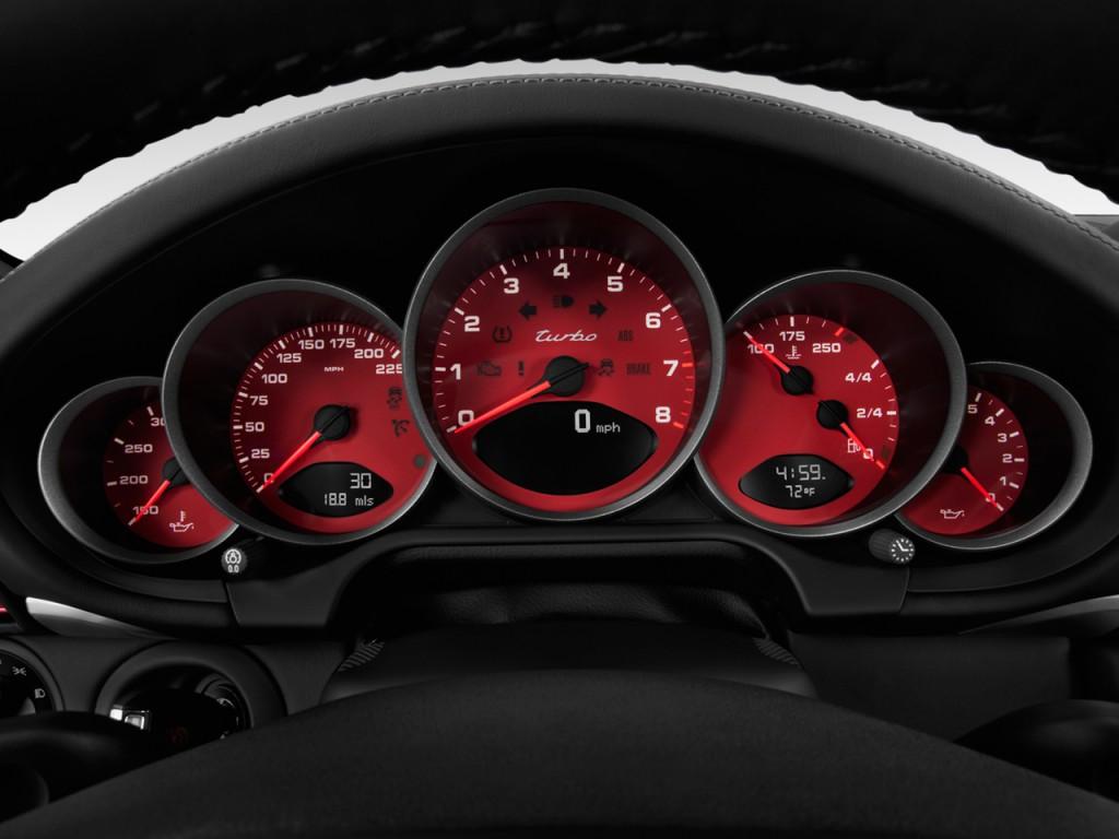 Image: 2011 Porsche 911 2-door Coupe Turbo Instrument ...