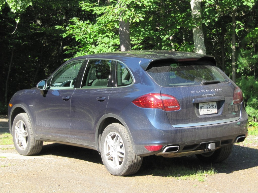 2011 Porsche Cayenne S Hybrid road test, Catskill Mountains, NY, August 2011