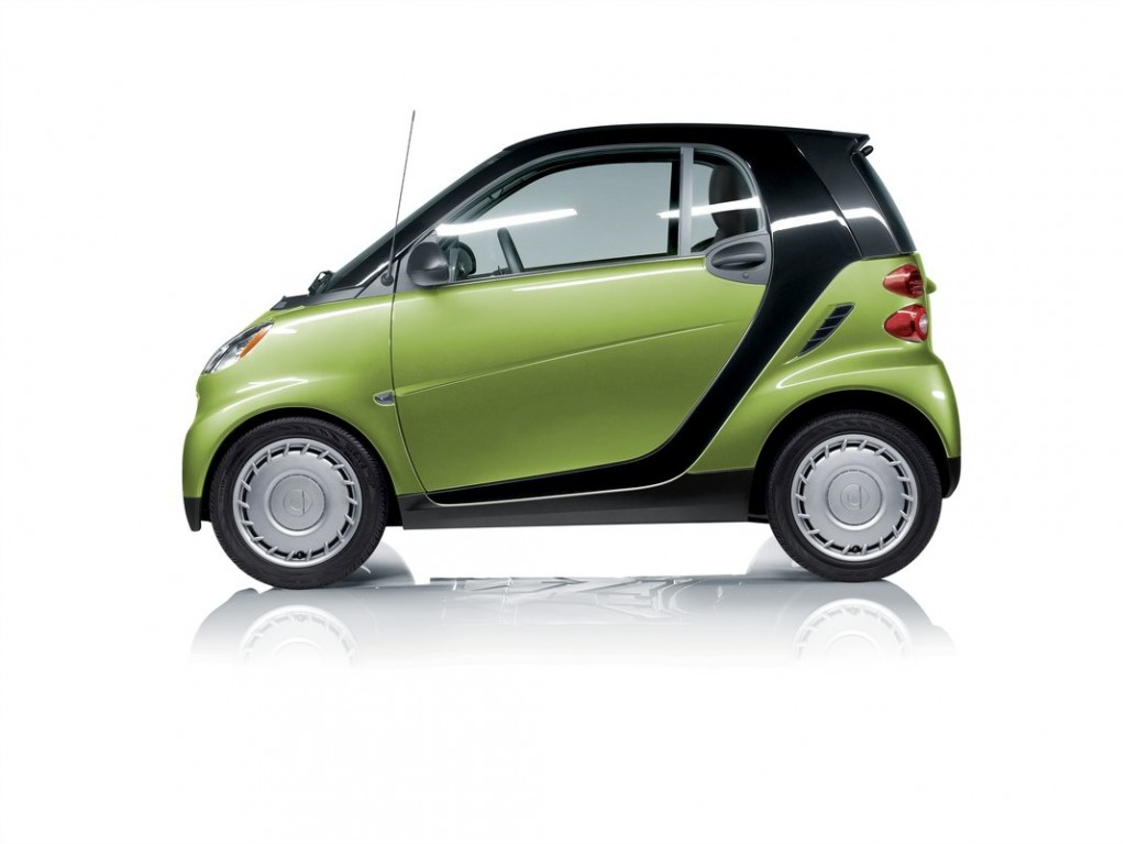 Tell The World You're Going Green, And You Could Win A Smart Fortwo