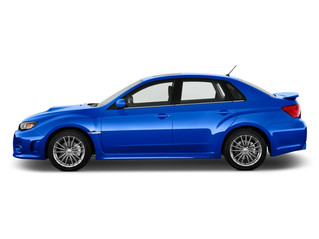 Image: 2011 Subaru Impreza WRX - STI 4-door Man Side ...