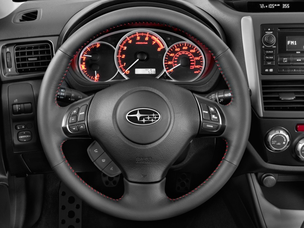 Image: 2011 Subaru Impreza WRX - STI 4-door Man Steering ...