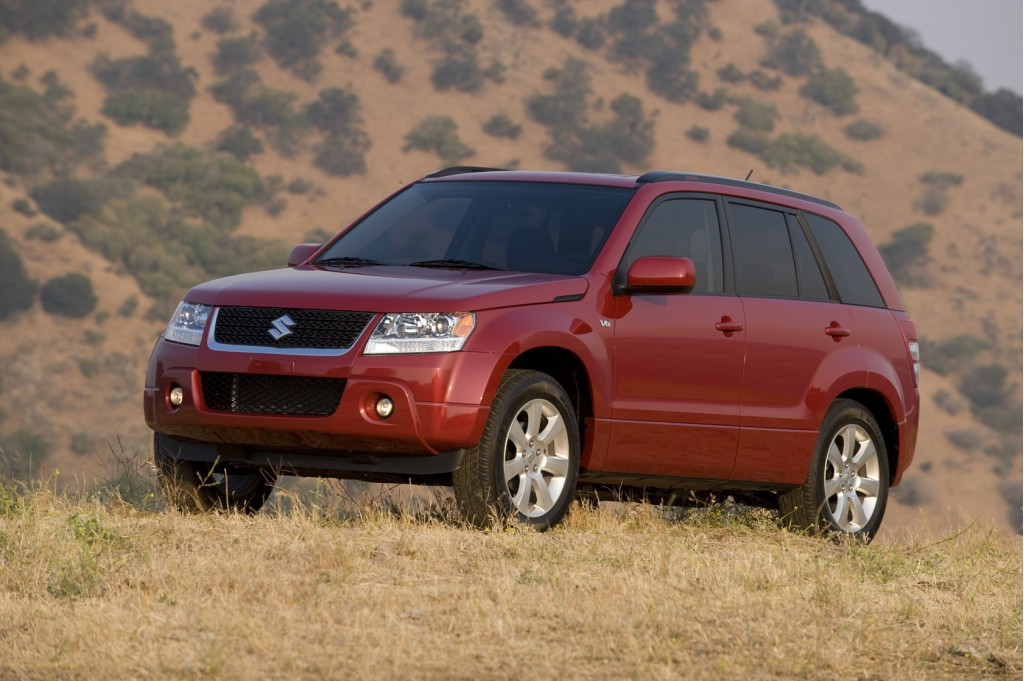 2006 2011 suzuki grand vitara 2007 2011 sx4 recalled for. Black Bedroom Furniture Sets. Home Design Ideas