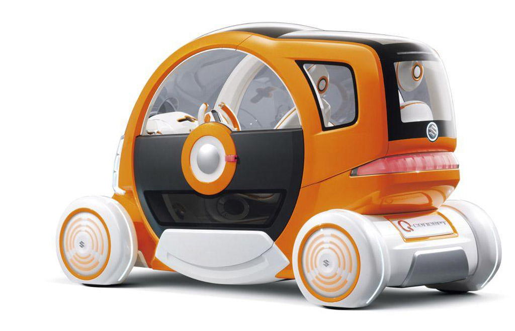 Image Suzuki Q Electric Car Concept Size X Type