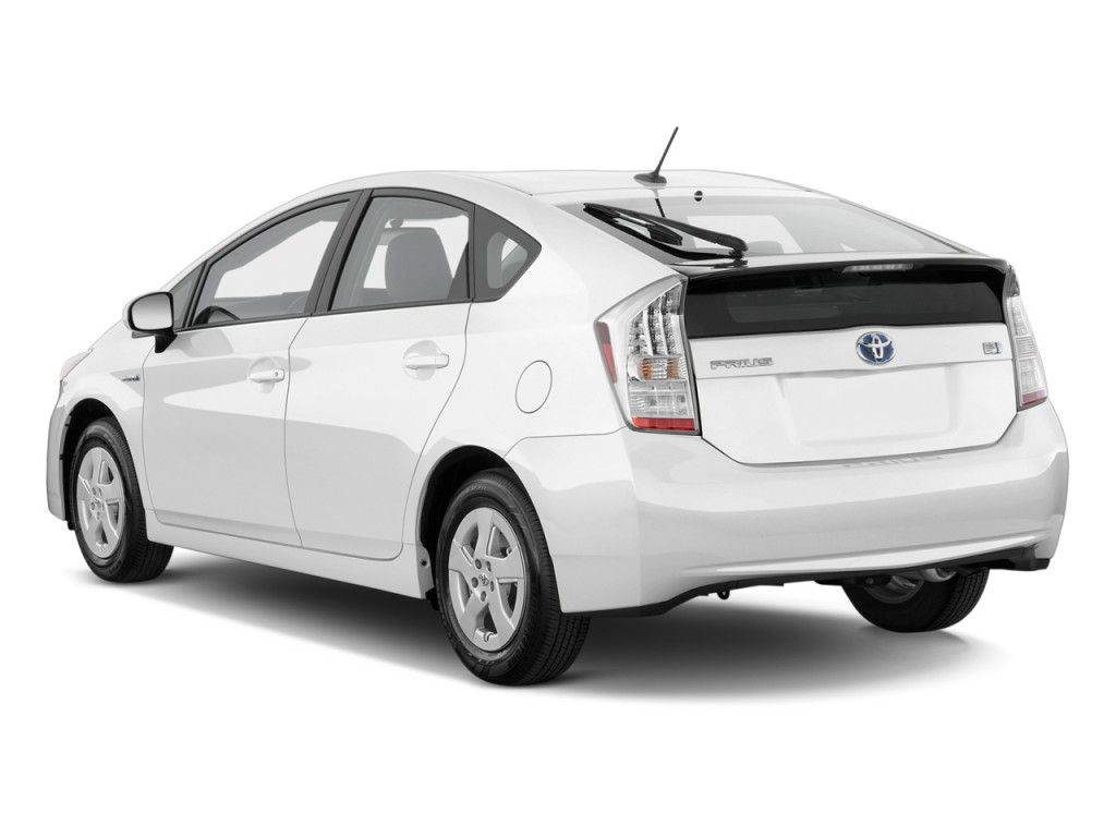 Used Toyota Prius >> Image: 2011 Toyota Prius 5dr HB II (Natl) Angular Rear Exterior View, size: 1024 x 768, type ...