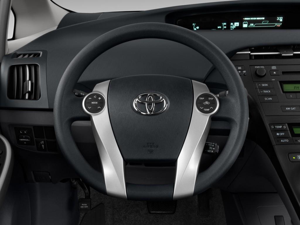 Image 2011 Toyota Prius 5dr Hb Ii Natl Steering Wheel