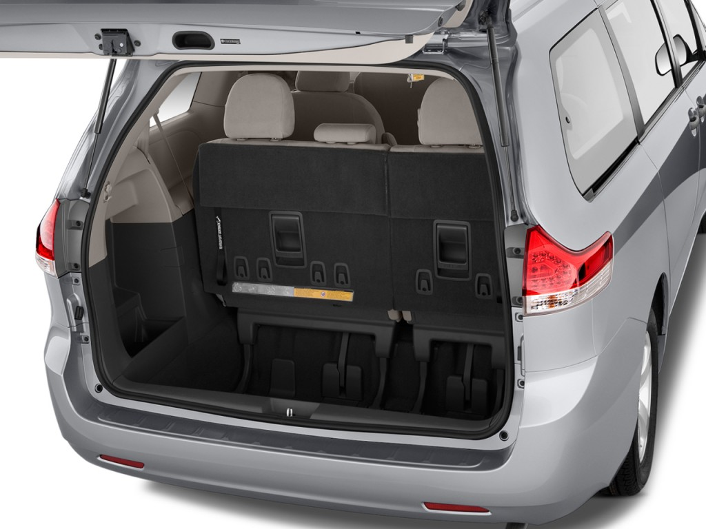 Hummer Jeep Price In Pakistan 2017 >> Image: 2011 Toyota Sienna 5dr 7-Pass Van V6 FWD (Natl) Trunk, size: 1024 x 768, type: gif ...