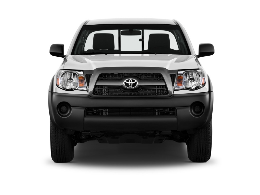 Image: 2011 Toyota Tacoma 4WD Reg I4 AT (GS) Front Exterior View, size: 1024 x 768, type: gif ...
