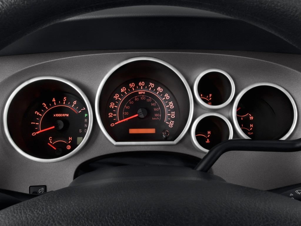 Lexus Of Tacoma >> Image: 2011 Toyota Tundra Instrument Cluster, size: 1024 x 768, type: gif, posted on: September ...