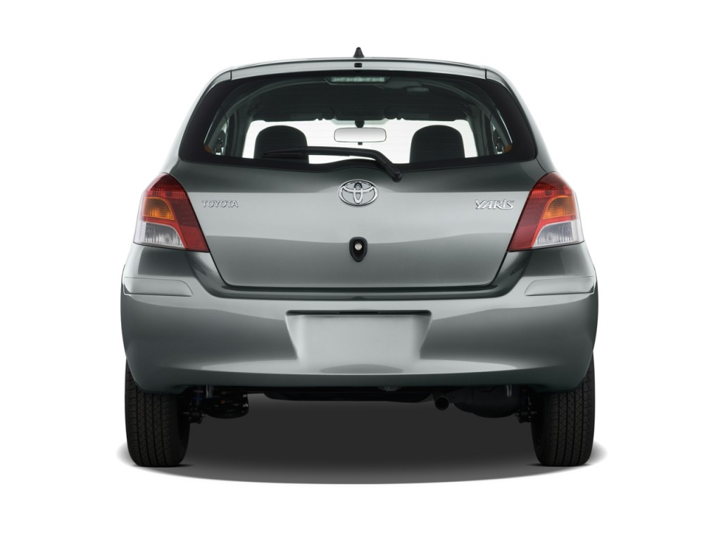 Image 2011 Toyota Yaris 3dr Lb Auto Gs Rear Exterior View Size 1024 X 768 Type Gif