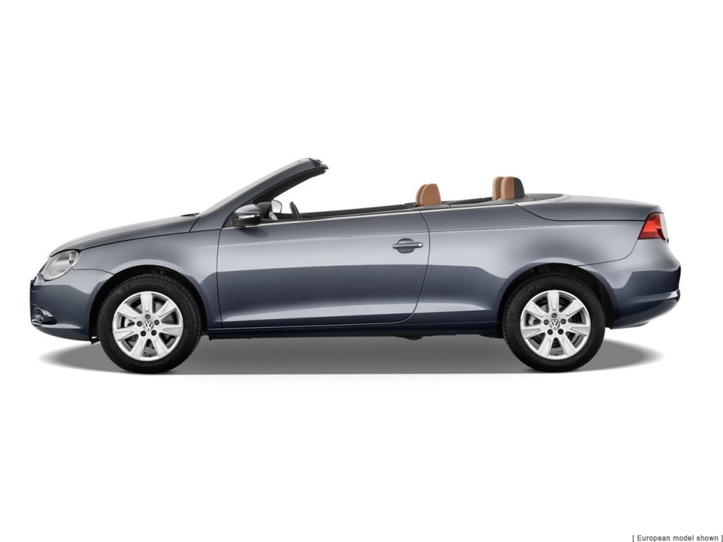Uber Lux Cars >> Image: 2011 Volkswagen Eos 2-door Convertible Lux SULEV Side Exterior View, size: 1024 x 768 ...