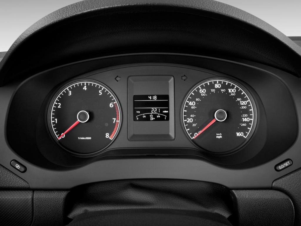 Image: 2011 Volkswagen Jetta Sedan 4-door Auto S Instrument Cluster, size: 1024 x 768, type: gif ...
