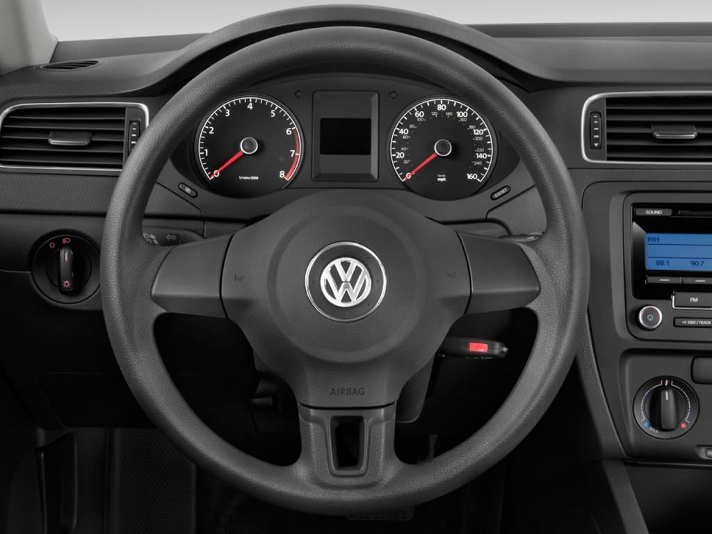 Image: 2011 Volkswagen Jetta Sedan 4-door Auto S Steering Wheel, size: 1024 x 768, type: gif ...