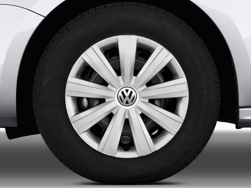 Image 2011 Volkswagen Jetta Sedan 4 Door Auto S Wheel Cap