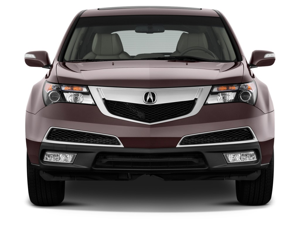 Image 2012 Acura Mdx Awd 4 Door Advance Pkg Front Exterior View Size 1024 X 768 Type Gif