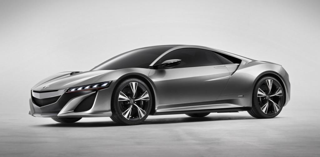 Acura NSX Concept: 2012 Detroit Auto Show