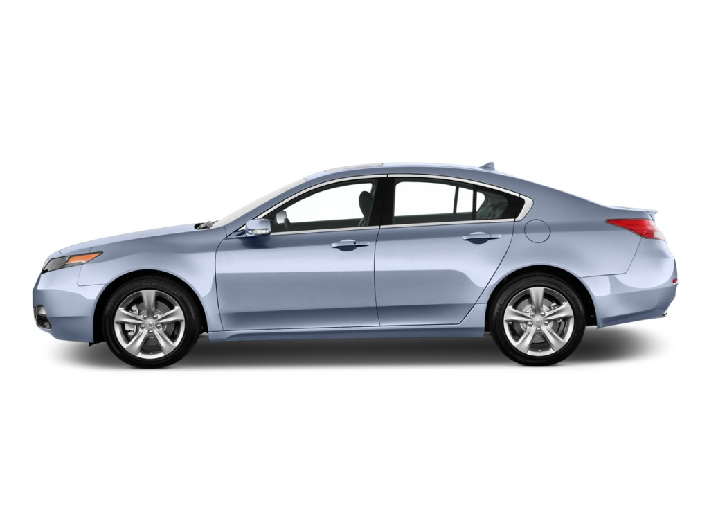Image: 2012 Acura TL 4-door Sedan 2WD Advance Side ...