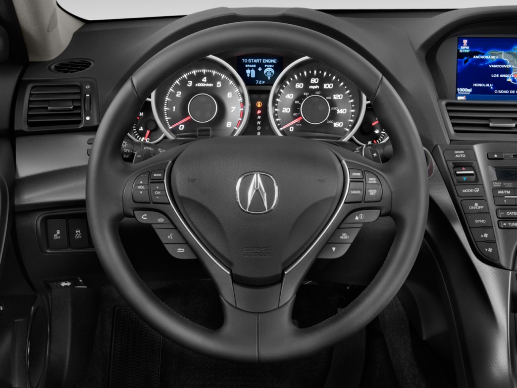 Acura Tl Door Sedan Wd Advance Steering Wheel L