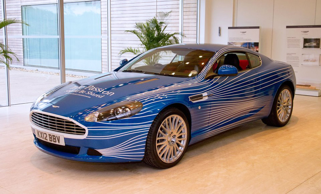 Aston Martin Db9 1m The Car Designed By Facebook Fans