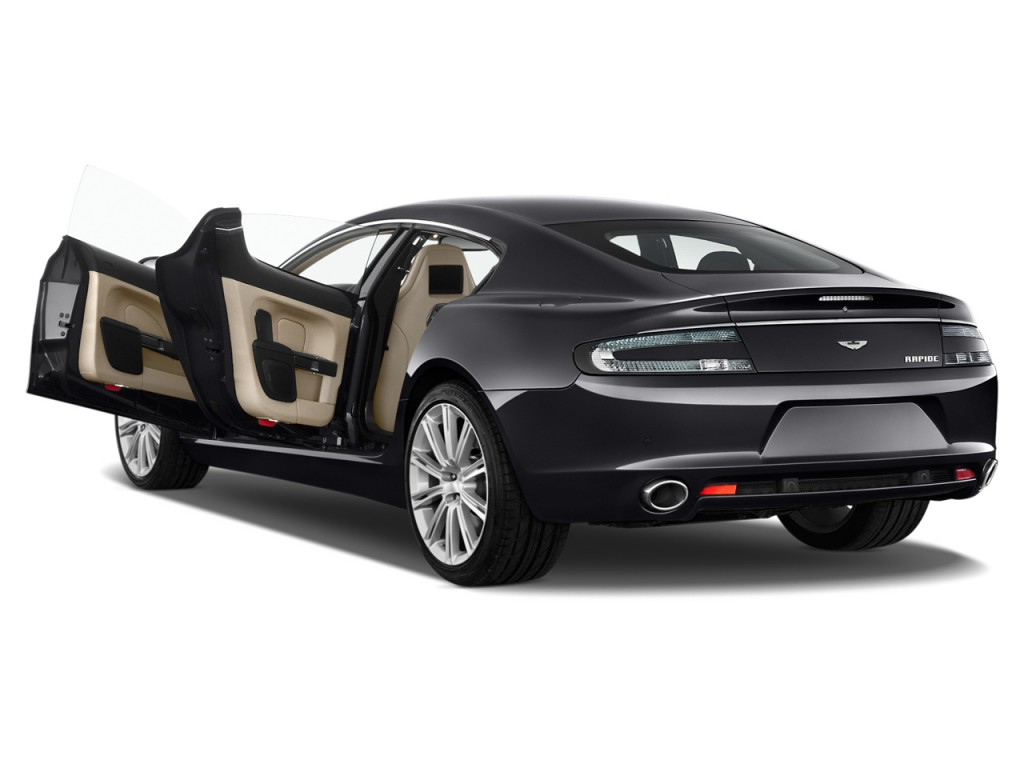 Image 2012 Aston Martin Rapide 4 Door Sedan Auto Open