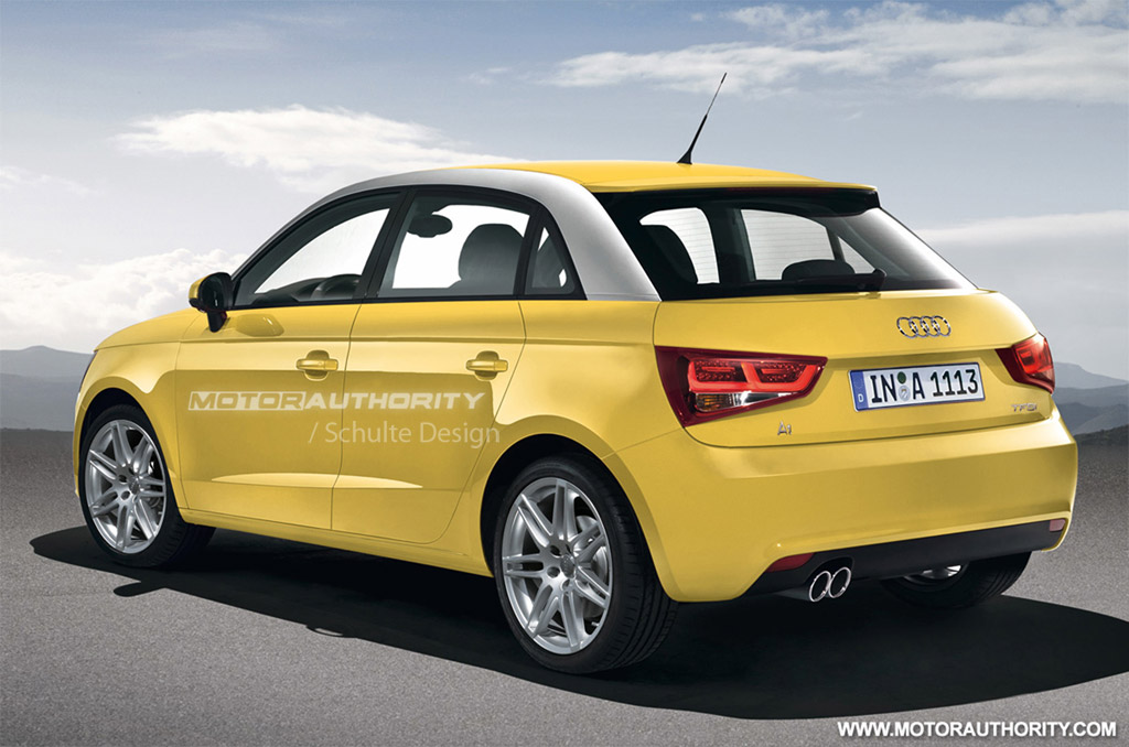 Is A Bmw A Foreign Car >> Rendered: 2012 Audi A1 Sportback