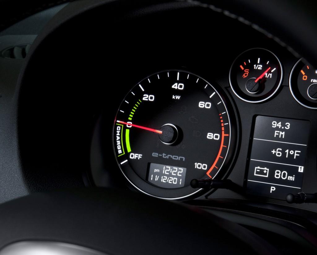2012 Audi A3 e-tron prototype