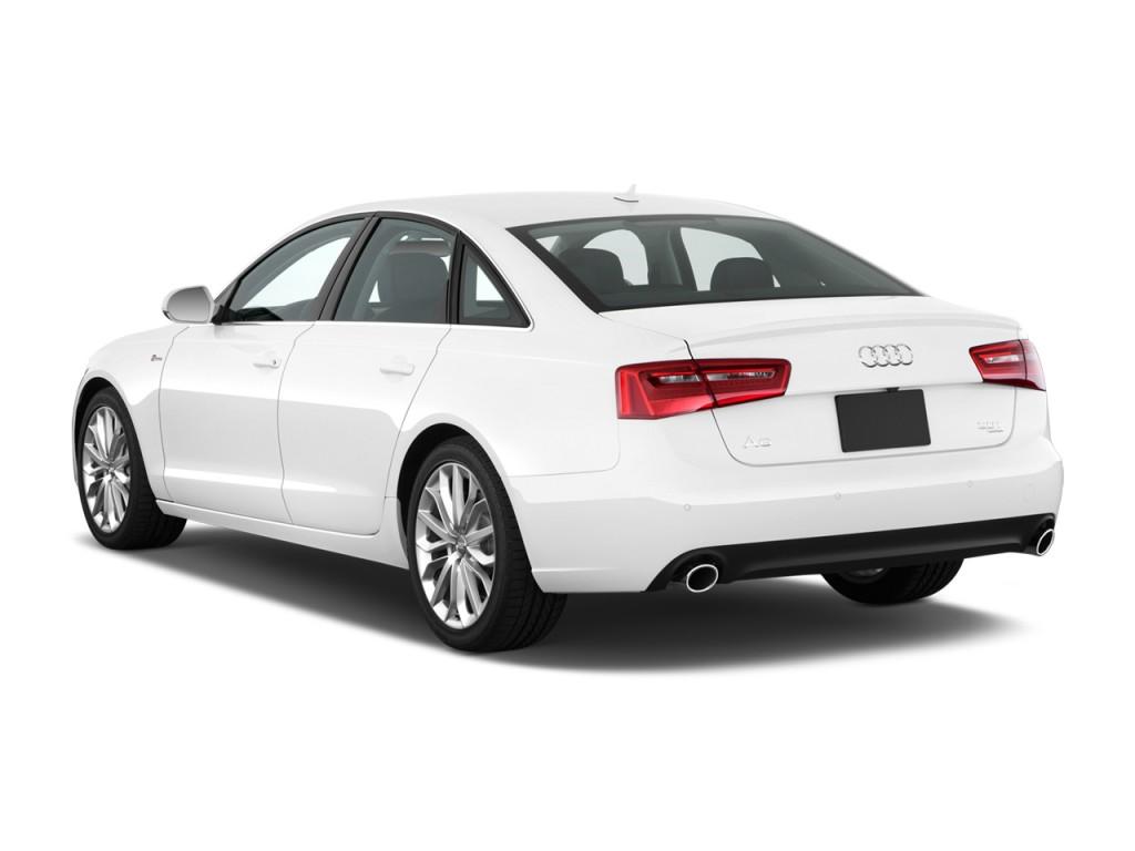 2012 Audi A6 4-door Sedan FrontTrak 2.0T Premium Plus Angular Rear Exterior View