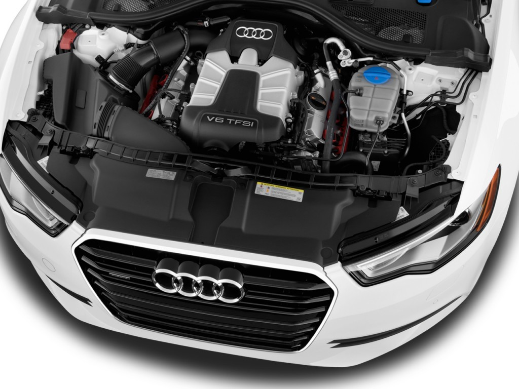Image: 2012 Audi A6 4-door Sedan FrontTrak 2.0T Premium Plus Engine
