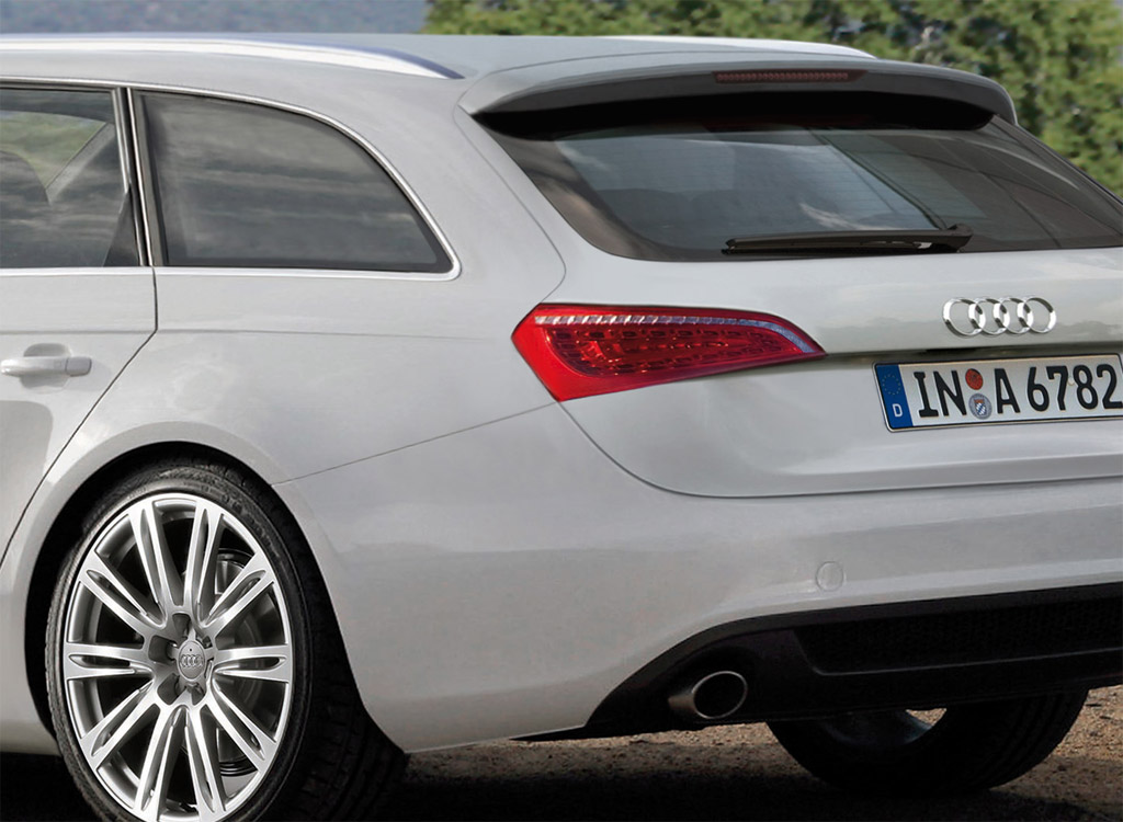 Rendered 2012 Audi A6 Avant