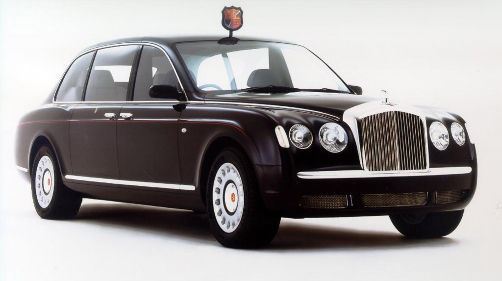 Bentley State Limousine for the Queen