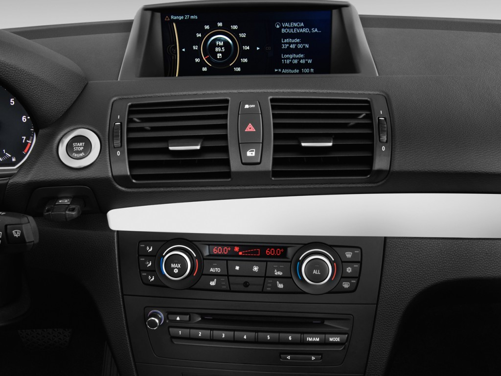 Image 2012 Bmw 1 Series 2 Door Convertible 128i Audio System Size 1024 X 768 Type Gif