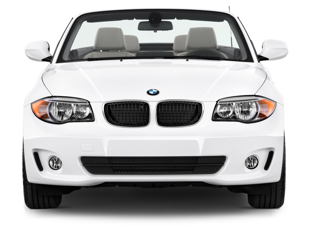 Image: 2012 BMW 1-Series 2-door Convertible 128i Front Exterior View ...