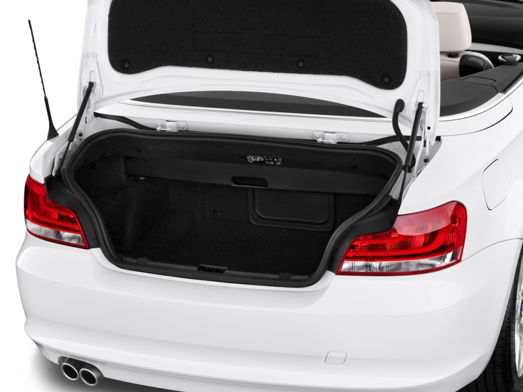 Image BMW Series Door Convertible I Trunk Size - 2012 bmw 128i convertible