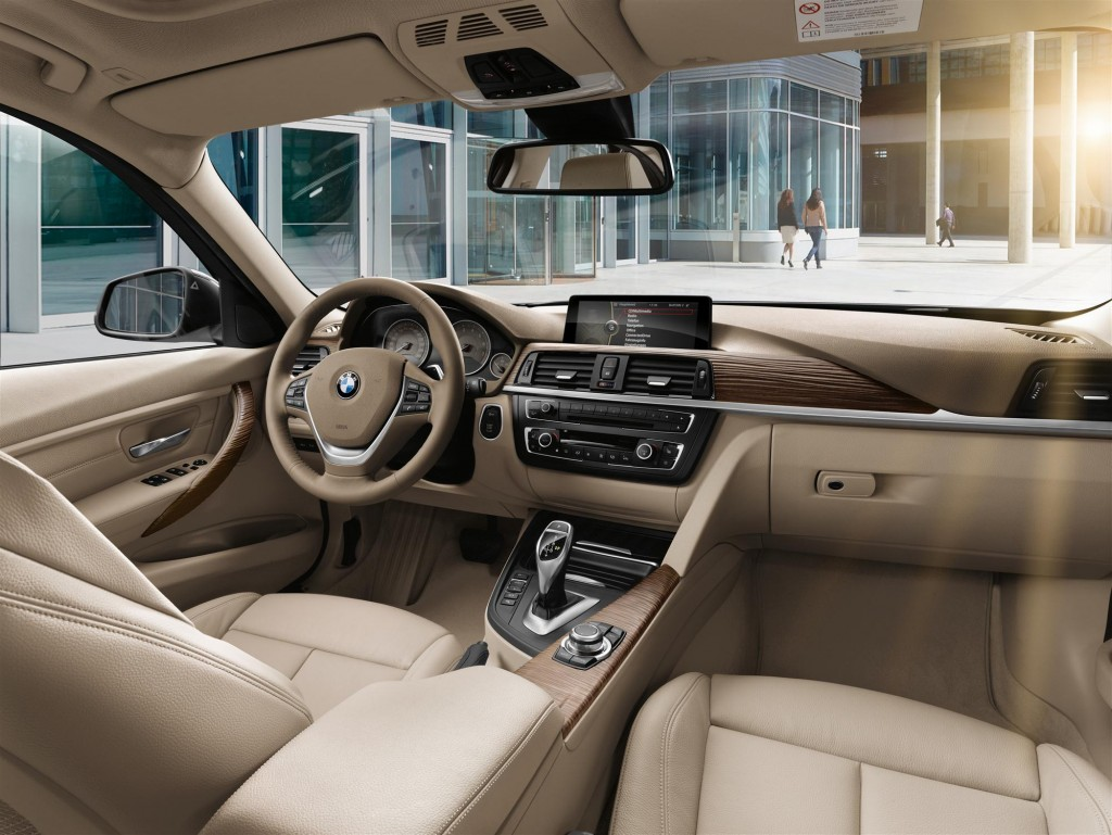 Image BMW Series Sedan Modern Line Interior Size X - Bmw 3 series interior