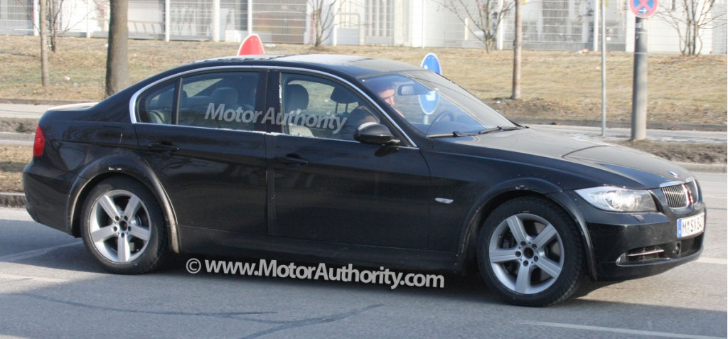 2012 bmw 3 series test mule spy shots january 005
