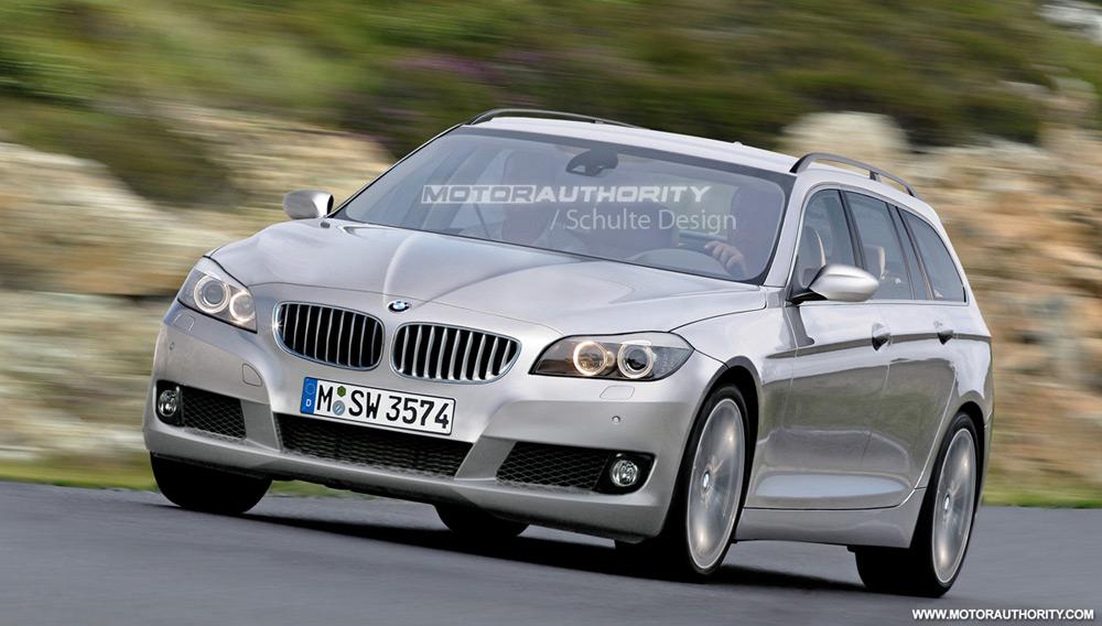 Rendered: 2012 BMW 3-Series Touring
